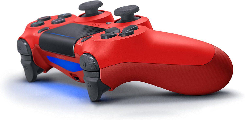 Sony Playstation Dualshock 4 V2 Magma Red New Dual Shock Jet Black