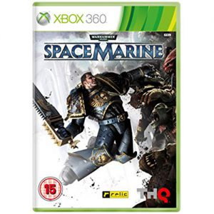 XBOX 360 Warhammer 40000 Spacemarine Limited edition