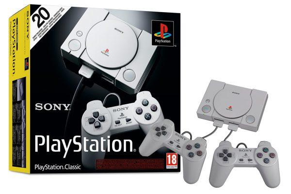 SONY Playstation Classic konsolė
